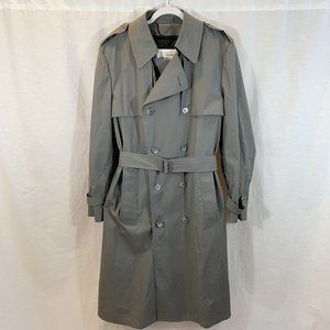 VTG London Fog Trench Coat Jacket Thinsulate Liner